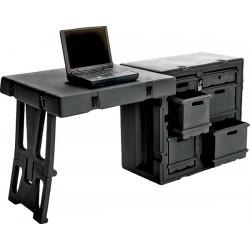 Caisse Administrative avec Table et Chaise