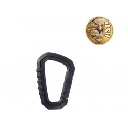 """Mini Mousqueton polymere ASP 2,5"""" (6.35cm)"""